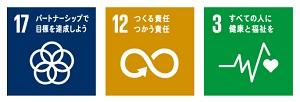 SDGsロゴ17,12,3